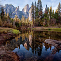 View Of Cathedral Peaks by