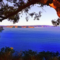 View Of  Central Coast From West Head  by Miroslava Jurcik