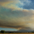 View Of Colorado Fourmile Wildfire From The North. by James BO Insogna