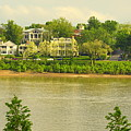 View Of Covington Kentucky by Kathy Barney