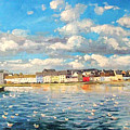 View Of Galway Harbour by Conor McGuire