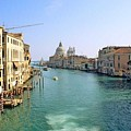 View Of Grand Canal In Venice From Accadamia Bridge by Michael Henderson