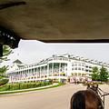 View Of Grand Hotel by Randy J Heath