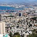View Of Haifa by Munir Alawi