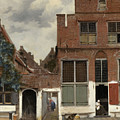 View Of Houses In Delft, Known As The Little Street by Jan Vermeer
