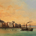 View Of Ischia From The Sea by Charles Remond