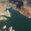 View Of Lake Powell by Carl Purcell