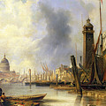 View Of London With St Paul's by John Wilson Carmichael