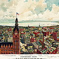 View Of Milwaukee 1898 by Andrew Fare