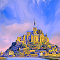 View Of Mont Saint Michel by Dominic Piperata