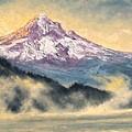 View Of Mt Hood by Jim Gola
