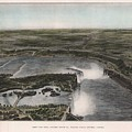 View Of Niagra Falls 1907 by John Frank