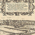 View Of Nuremberg From The West [left Section] by Hans Sebald Lautensack
