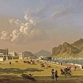 View Of Palermo 1845, Robert Salmon by Artistic Panda