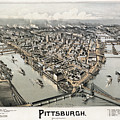 View Of Pittsburgh, 1902 by Granger
