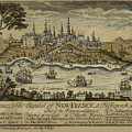 View Of Quebec City 1759 by Andrew Fare