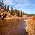 View Of River Around The Bend by Greg Plamp