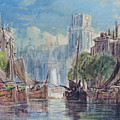 View Of Rotterdam by George Chambers