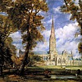 View Of Salisbury Cathedral by John Constable