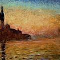 View Of San Giorgio Maggiore by Claude Monet