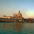 View Of Santa Maria Della Salute On Grand Canal In Venice by Michael Henderson