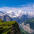 View Of The Swiss Alps by Greg Plamp