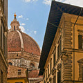 View Of The Duomo by Mick Burkey