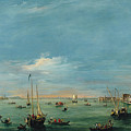 View Of The Giudecca Canal And The Zatter by Francesco Guardi