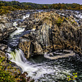 View Of The Great Falls by Nick Zelinsky