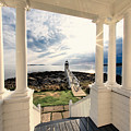 View Of The Marshall Point Lighthouse From The Keeper's House by George Oze