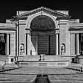 View  Of The Memorial Amphitheater At Arlington Cemetery  by Alex Grichenko