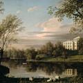 View Of The Pavlovsk Palace by Carl Ferdinand von Kugelgen
