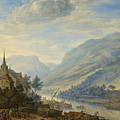 View Of The Rhine River Near Reineck by Herman Saftleven
