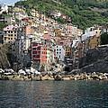 View Of The Riomaggiore, La Spezia by Panoramic Images