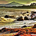 View Of The Sugarloaf Mountain From Killiney, 1b by Zsuzsanna Szabo
