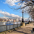 View Of The Thames by Madeline Ellis