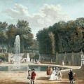View Of The Tuileries Garden by MotionAge Designs