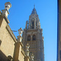 View Of Toledo Cathedral In Sunny Day, Spain. by Alexey Larionov