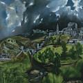 View Of Toledo by Domenikos