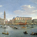 View Of Venice From The Island Of San Giorgio by Gaspar van Wittel