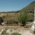 View Of Virginia City Nv From The Final Resting Place by LeeAnn McLaneGoetz McLaneGoetzStudioLLCcom