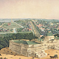 View Of Washington Dc by Edward Sachse