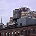 View Of Water Tank From High Line Park by Madeline Ellis
