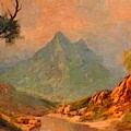 View On Blue Tip Mountain H A by Gert J Rheeders