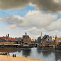 View On Delft by Jan Vermeer