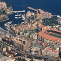 View On Monte Carlo On French Riviera by Carl Purcell