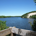 View On The Au Sable by Linda Kerkau