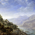 View On The Rhine by Herman Saftleven