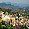 View Over Assisi by Brian Jannsen