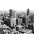 View Over Downtown Chicago by Underwood Archives